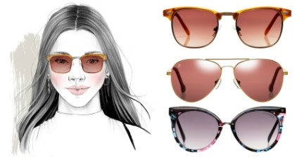 What are the best sunglasses for a heart shaped face?.