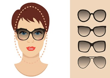 What are the best sunglasses for an oblong shaped face?