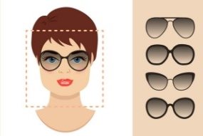 What are the best sunglasses for a square shaped face?