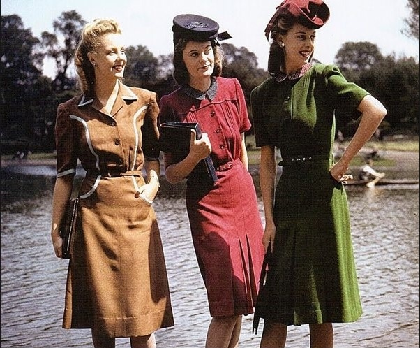 Insparational vintage outfits and dresses that can be worn nowadays